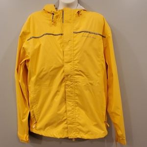 Vineyard Vines Yellow Rain Jacket